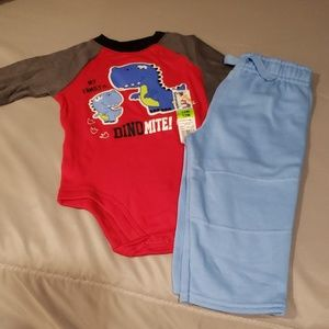 Other - Brand New Infant Onesie w/ pants Size 12Months